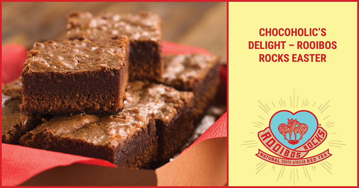 CHOCOHOLIC'S DELIGHT – ROOIBOS ROCKS EASTER