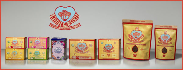 Show our range of delicious Rooibos teas here