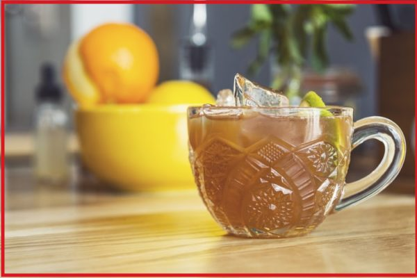 Rooibos Rocks ice tea