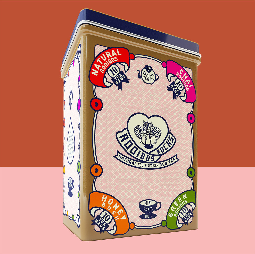 40ct Variety Sampler Tea Tin