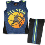 City 46 Basketball Boys Shorts Set