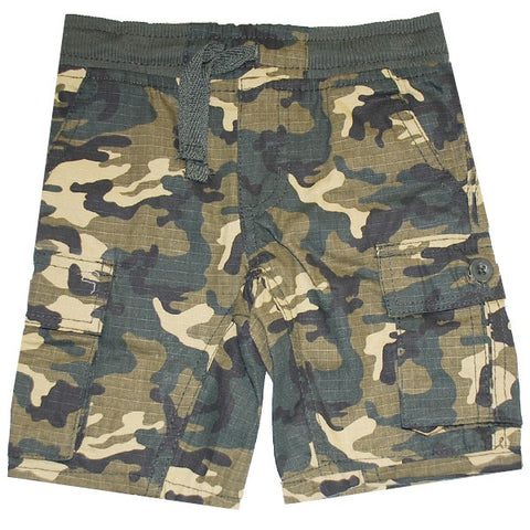 Boys Military Print Bermudas