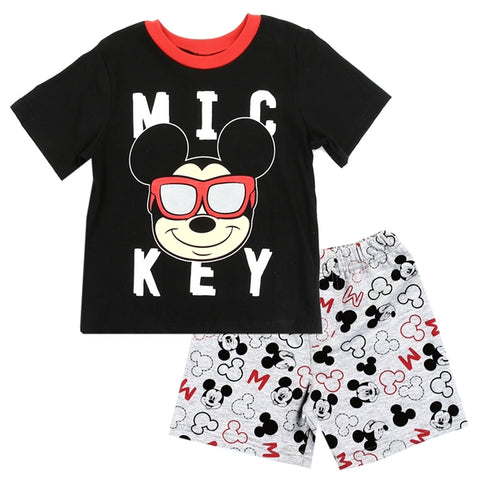 Mickey Mouse Boys Toddler 2PC Short Set