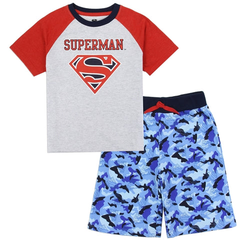 Superman Boys Toddler 2-PC Short Set