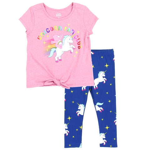 Care Bears Girls Toddler 2-Piece Legging Set