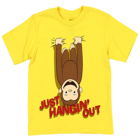 Curious George Boys Just Hanging Out T-shirt