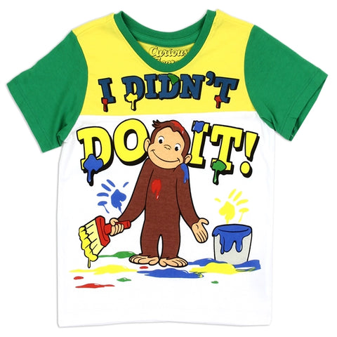 Curious George Boys Toddler T-shirt