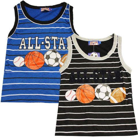 Lil' Hyacinths  Hyacinth Boys Soccer Football Basket Ball  Sports Vest