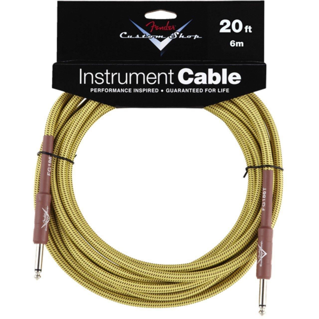 Fender - Custom Shop 20' Instrument Cable Tweed