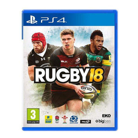 BIG-PS4-R18 - Rugby 18 PS4