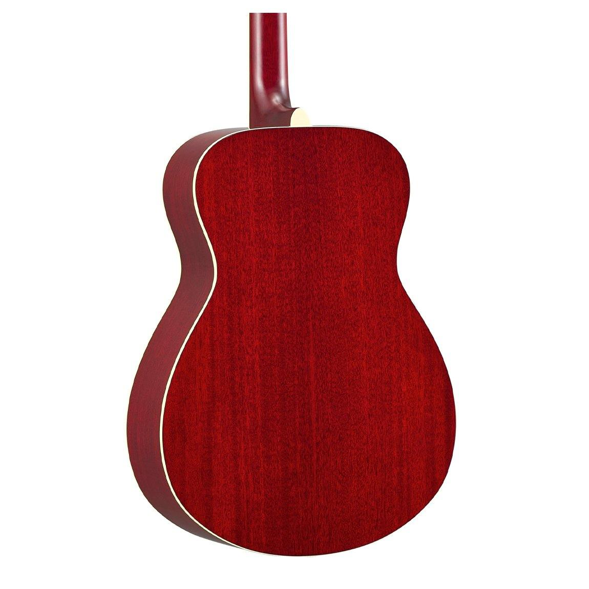 Yamaha FS-TA Transacoustic Concert Guitar - Ruby Red - ICONS Shop
