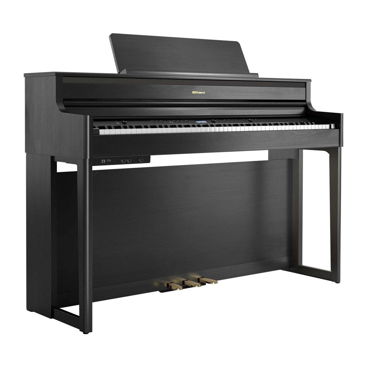 Roland HP704 Digital Piano (Charcoal Black) - ICONS Shop