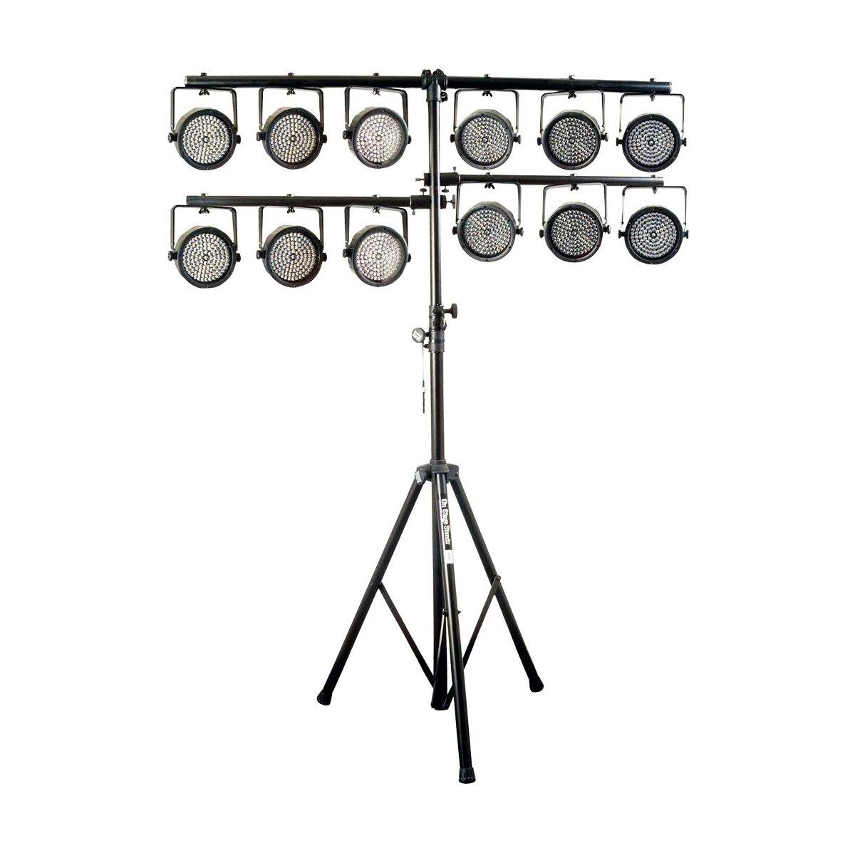 On-Stage LS7720QIK Quick-Connect u-mount Lighting Stand - ICONS Shop