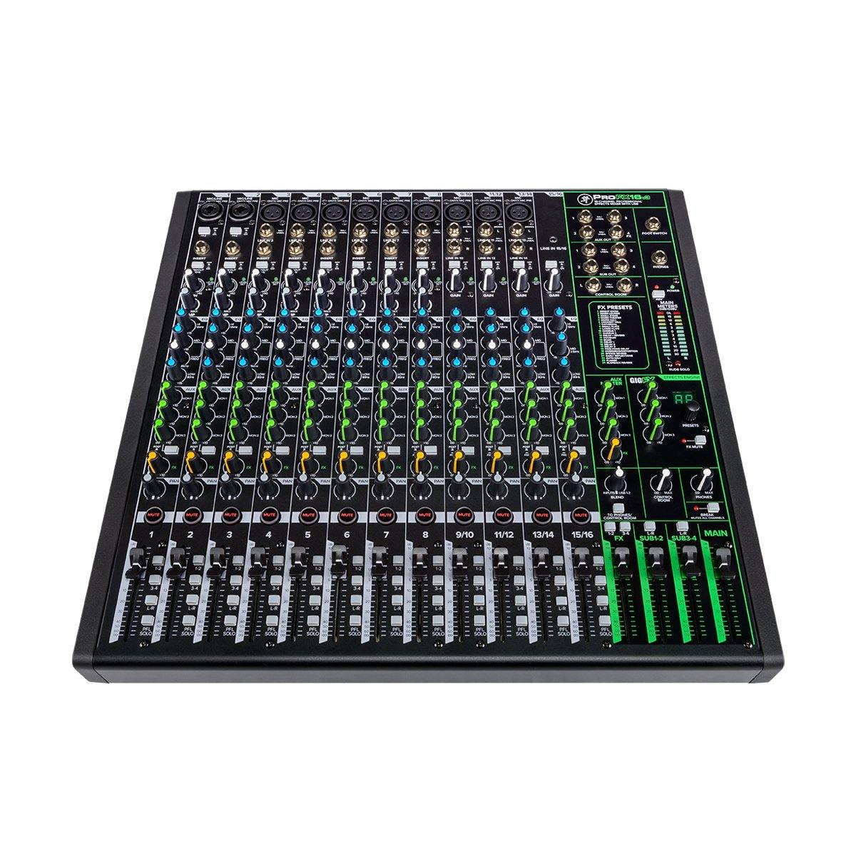 Mackie ProFX16 V3 - Professional 16-Channel Mixer w/ FX - ICONS Shop