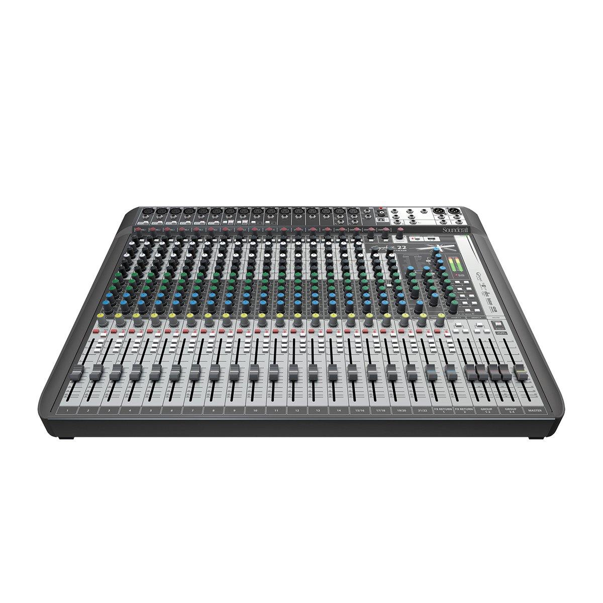 Soundcraft Signature 22 MTK Mixer w/ FX & Multitrack USB - ICONS Shop