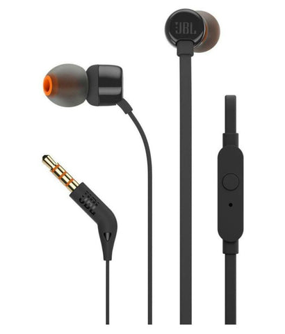 JBL Tune 110 Earphones - Black