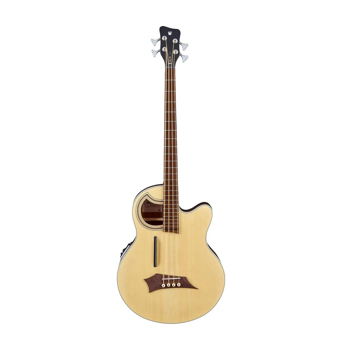 Warwick Alient Deluxe Thinline 4-String Acoustic Bass Guitar - ICONS Shop