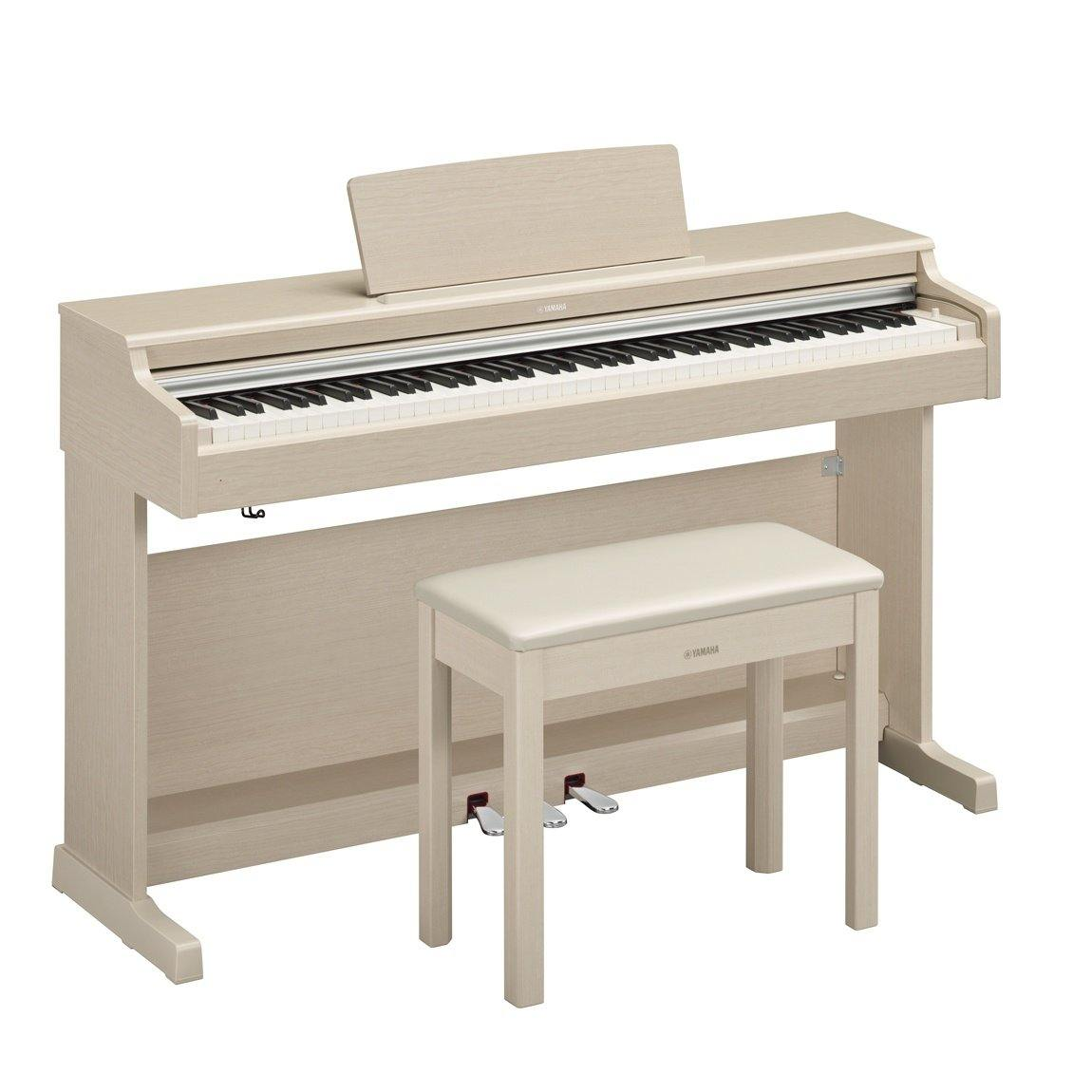 Yamaha Arius YDP-164WA Digital Piano - White Ash - ICONS Shop