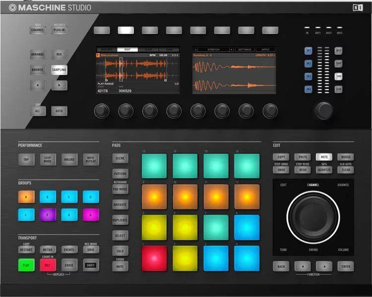 Native Instruments Maschine Studio - Production System
