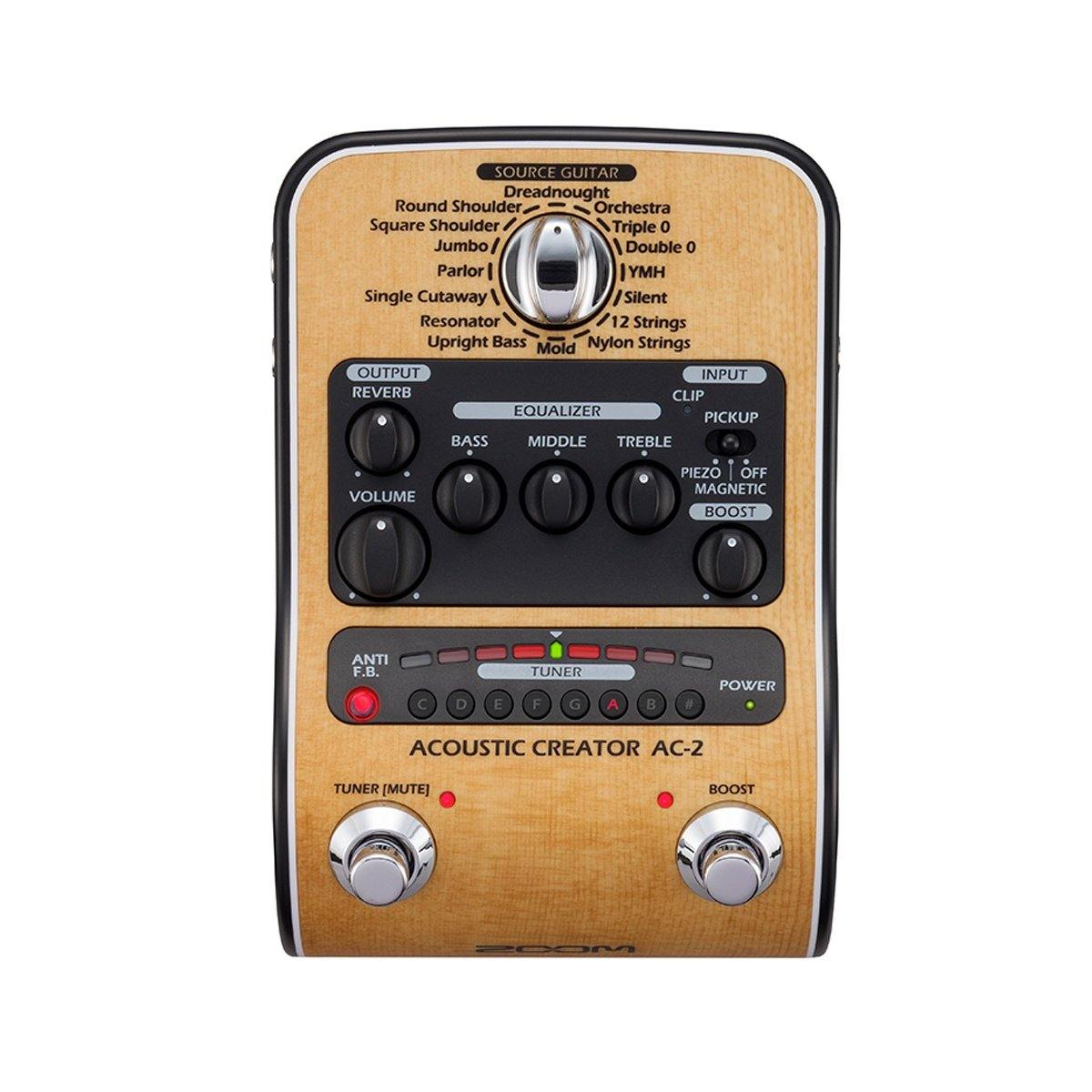 Zoom AC-2 Acoustic Creator Pedal - ICONS Shop