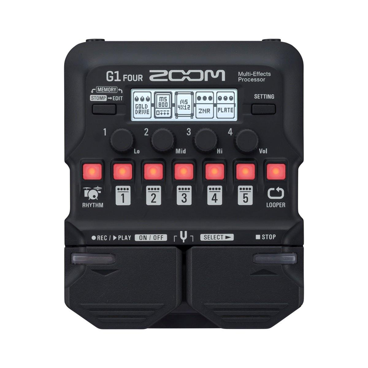 Zoom G1 Four Multi-effects Processor - ICONS Shop