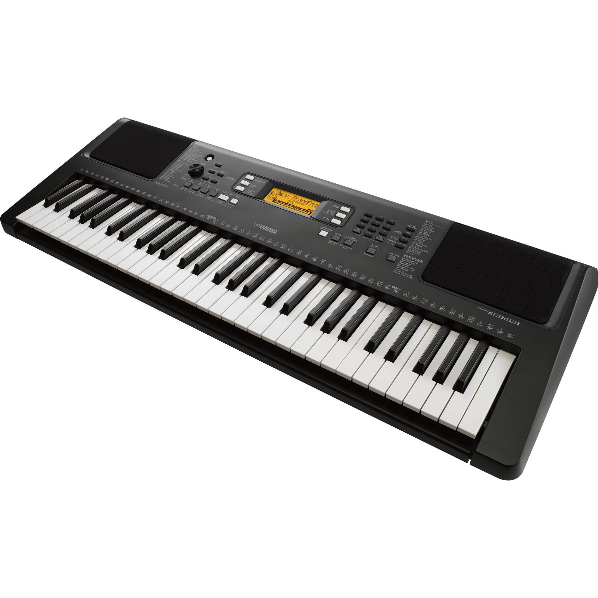 Yamaha PSR E363 61 Key Portable Keyboard