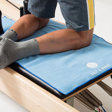 Load image into Gallery viewer, Non-Slip Pilates Reformer Towel | Blue