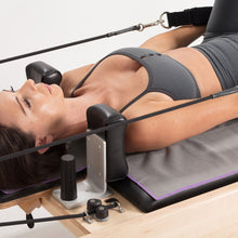 Load image into Gallery viewer, Non-Slip Pilates Reformer Towel | Gray/Purple