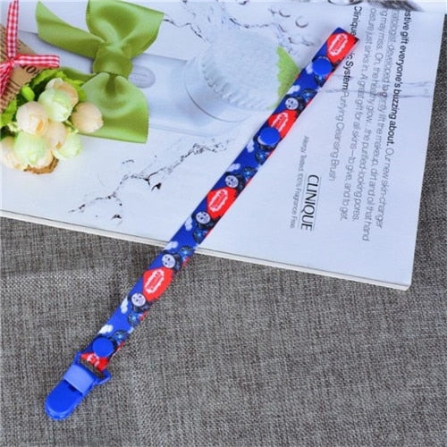 Baby Newborn Girls Boys Pacifier Clip Chain Strap Dummy Soother Nipple Holder CA