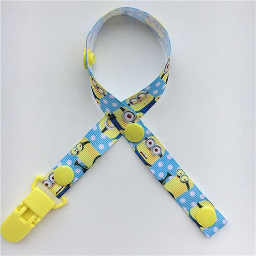 Baby Dummy Clip Baby Pacifier Clips Baby Holder Leash for Boys and Girls 8 Pack Baby Pacifier Holder Straps