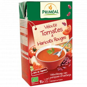 VELOUTE TOMATES ET HARICOTS ROUGES