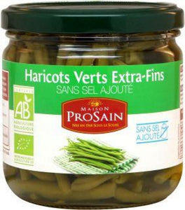 HARICOTS VERTS EXTRA-FINS SANS SEL AJOUT
