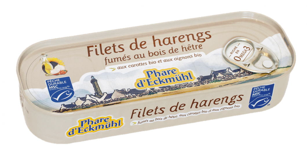 FILETS DE HARENGS FUMÉS
