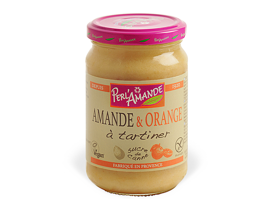 TARTINADE AMANDE ET ORANGE