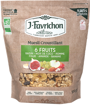 MUESLI 6 FRUITS