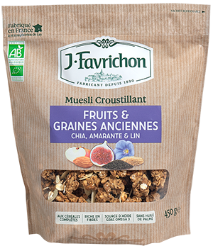 MUESLI FRUITS ET GRAINES