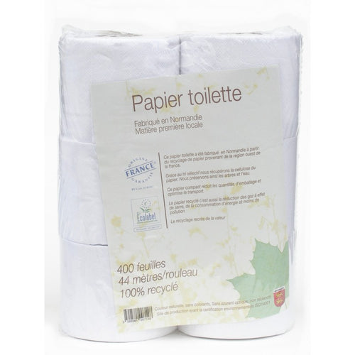 PAPIER TOILETTE  100% RECYCLE