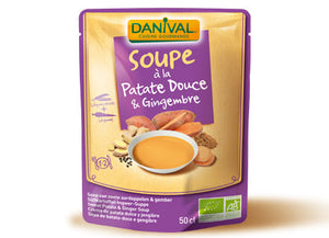SOUPE PATATE DOUCE ET GINGEMBRE