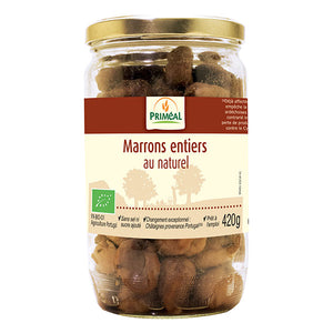 MARRONS ENTIERS D'ARDECHE AU NATUREL