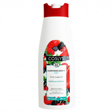SHAMPOOING DOUCHE FRUITS ROUGES