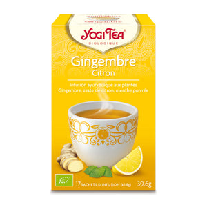 INFUSION AYURVEDIQUE GINGEMBRE CITRON