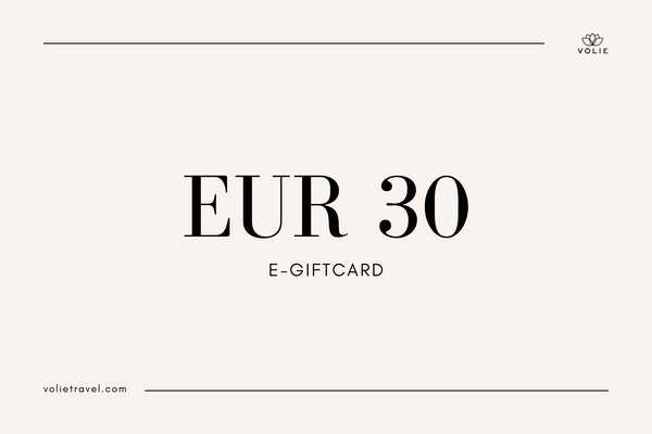 Volie Giftcard with €30 value