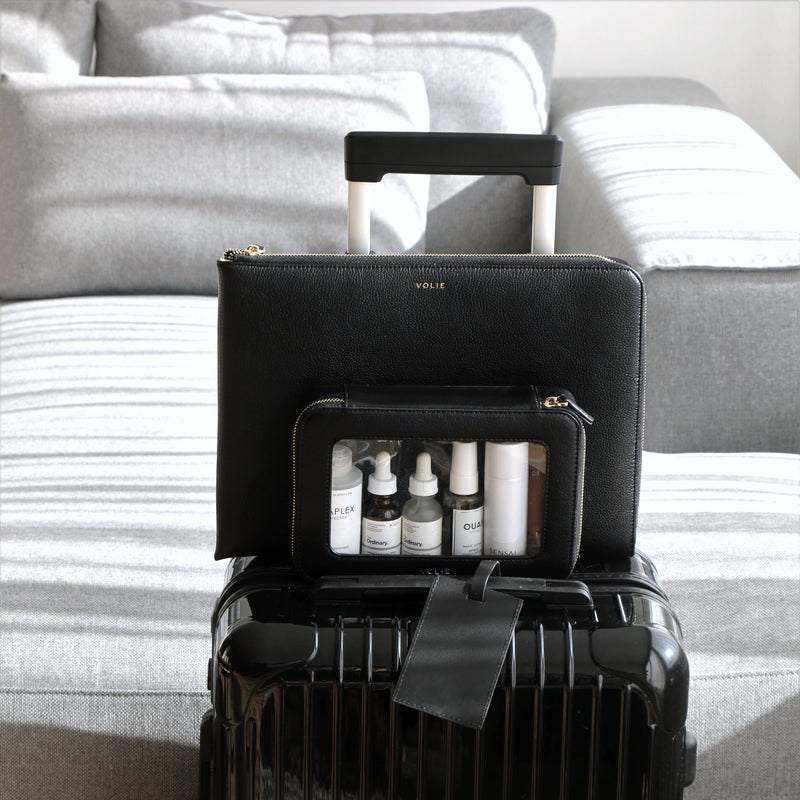 Noir Clear Travel Case - VOLIE