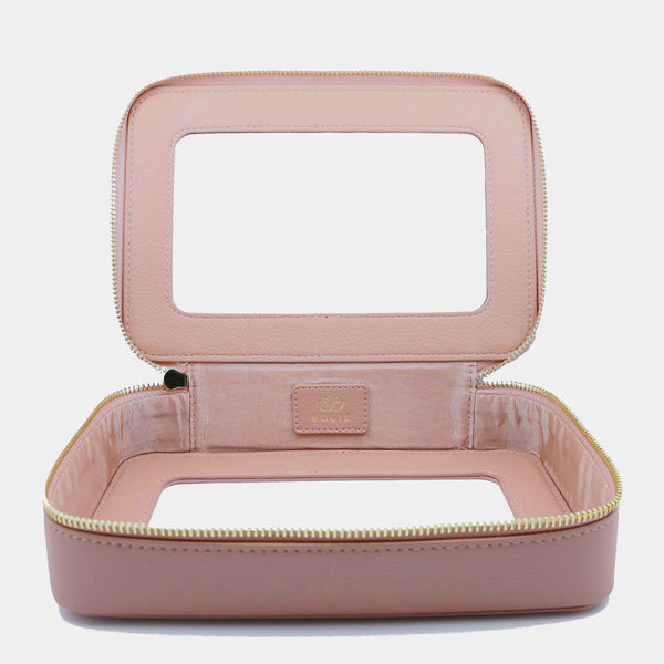 Rosé Clear Travel Case - VOLIE