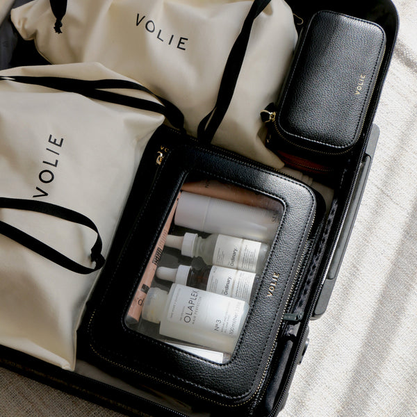 Noir Travel Essentials Set - VOLIE