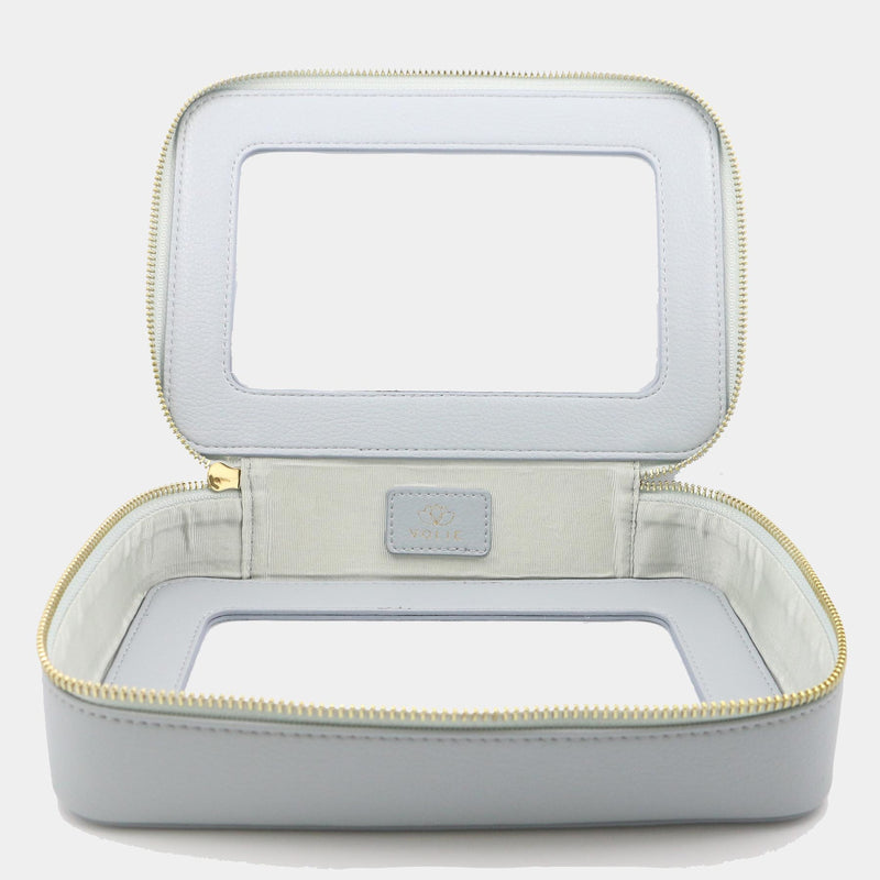 Bleu Ciel Clear Travel Case - VOLIE