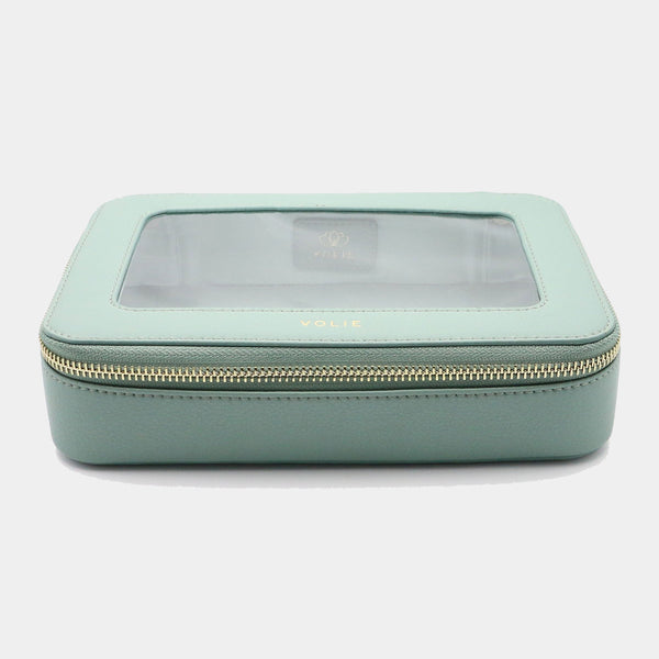 Menthe Clear Travel Case - VOLIE