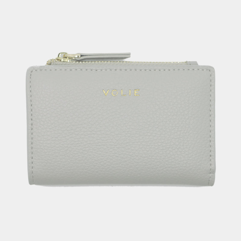 Grey Slim Wallet - VOLIE