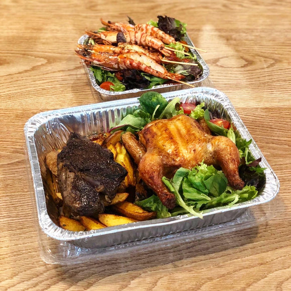 (AA04) STEAKHOUSE PLATTER (for 2pax or 4pax) DELIVERED TO YOUR DOORSTEP!
