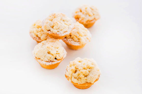 (SW31) MINI APPLE CRUMBLE TARTS (30 PC)